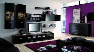 black and purple living room decor magnificent 1000 images about