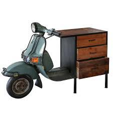 geniale kommode roller casablanca 140cm metall holz regal sideboard vespa motorrad