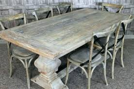 White Distressed Dining Table Room Chairs Other Washed Whitewash