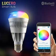 lucero皰 smart bluetooth rgb color changing led light bulb app