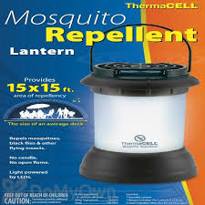 Thermacell Mosquito Repellent Outdoor Led Lantern by Dark Bronze Mosquito Repellent Lantern 12 Hrs Blue Box Mr 9sb