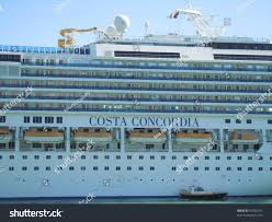 Cruise Ship Sinking 2016 by Barcelonaspainoctober 11costa Concordia Cruise Ship Few Stock