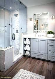 Wood Tile Shower Bathroom Floor With Fresh Best Ideas On Rustic Flooring Effect Tiles