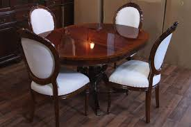 dining room table with leaf beautiful storage underneath oval