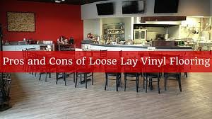 Vinyl Flooring Pros And Cons by Pros And Cons Of Loose Lay Vinyl Flooring