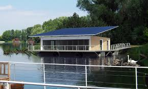 100 Houseboat Project On Danube Bratislava Slovakia RULES Architects