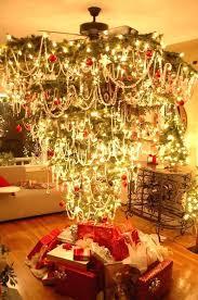 Upside Down Xmas Tree Interesting Corner Christmas Uk