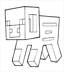 Coloring Pages Of The Diamond Minecraft Fresh Armor Color By Number Printable Pig