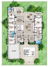 One Level House Floor Plans Colors Second Floor Plan Of Mediterranean House Plan 60577 House Plans