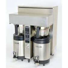 Fetco CBS 2032e EXTRACTOR Dual Twin Commercial Coffee Brewer Voltage Restaurant Supply