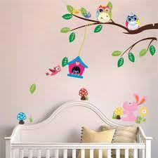 thème chambre bébé décoration chambre bébé 31 idées originales thème hibou