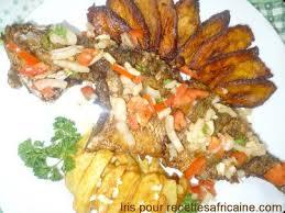 recette de cuisine avec du poisson poisson carpe frit recettes africaines