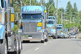 VIDEO: Convoy Of Big Trucks Through Port Kells And Langley In Memory ... Ikaalinen Finland August 9 2018 Customised Classic Scania 110 Oemand Trucking App Convoy Doesnt Want To Be The Uber For Ats Boot Screen With Wallpaper From Movie American The Worlds Longest Truck Convoy In Hd Youtube 590strong Truck Honors Moms Makeawish Foundation Abc News Of Connectivity Us Army Tests Autonomous Trucks In Kids Sydney Olympic Park Special Olympics Watch Videos Online Joecon 2012 Vehicles Soviet Og Attack Helicopter Original 77 Rs700l Antique And Classic Mack 2017 The Show Trucks