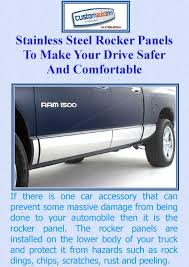 Stainless Steel Rocker Panels To Make Your Drive Safer And ...