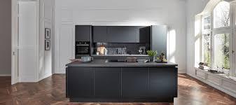 design küche in schwarz supermatt küche eleganza