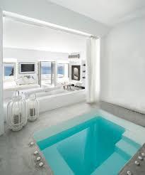 100 The Grace Santorini Hotel Luxury Deluxe Interior Room With Plunge Pool