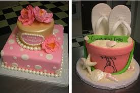 Using Wedding Colors Or Honeymoon Themes For A Bridal Shower Cake By Tri Cities