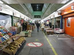 Food infrastructures New Covent Garden Market and seafood