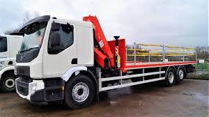 100 Flatbed Truck Rental 26000kgs VOLVO FE 350 Alltruck Group Sales