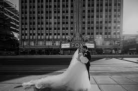 A fairytale wedding at the Fox Theatre Detroit – Abby Rose