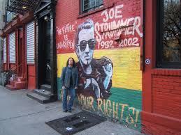 Joe Strummer Mural Address by Joe Strummer Telecaster Telecaster Guitar Forum