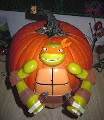 Pumpkin Push Ins Target by Gemmy Nickelodeon Teenage Mutant Ninja Turtles U201cmichelangelo