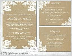 Amazing Rustic Wedding Invitation Sets And Like This Item 81 Kits Canada