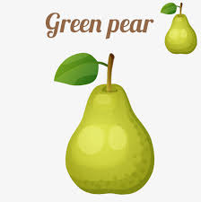 si e poire une poire poires fruits en anglais png et vecteur pour