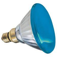 13465 ge outdoor floodlight 85 watt blue par38 1 pack yard