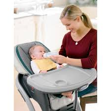 Graco Highchairs: Graco Blossom 4-In-1 Seating System, Sapphire