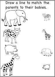 Kindergarten Printable Worksheets For 3 Year Olds Kids