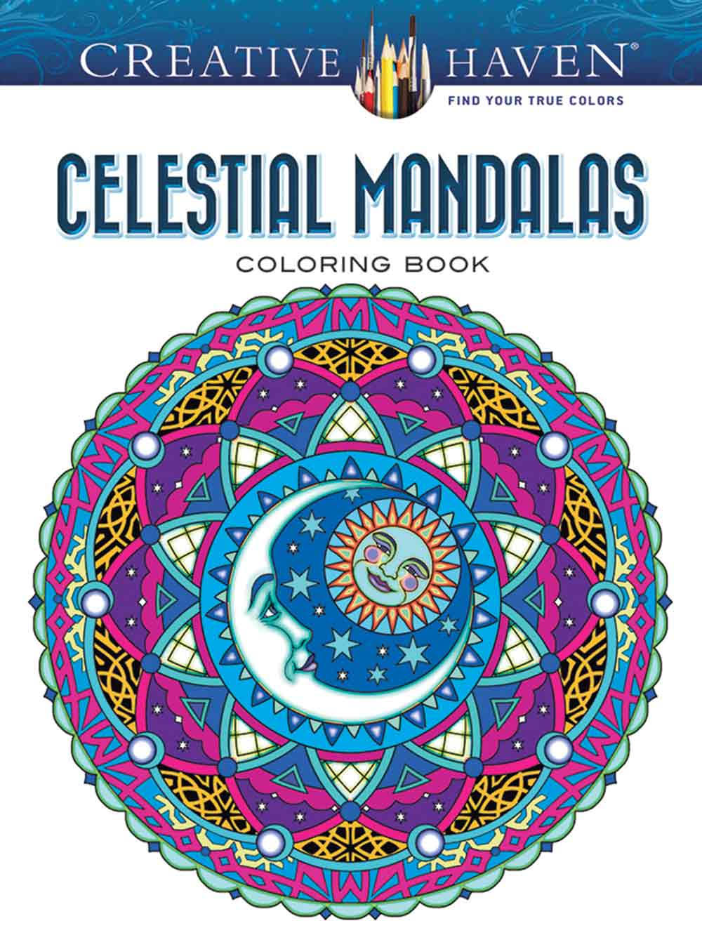 Dover Publications Dov-80480 Creative Haven-Celestial Mandalas