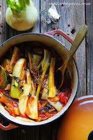 fenouil cuisiner fenouil braisé à l aubergine et aux tomates cuisine et cigares