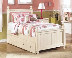 Ashley Bittersweet Bedroom Set by Cottage Retreat Twin Poster Bed With Storage B213 51n 52n 70 83n