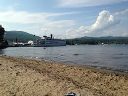 100 Million Dollar Beach Lake George Lake George New York Off To The Side Of