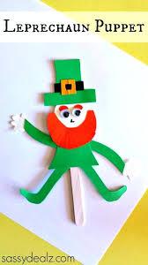 Construction Paper Crafts For Preschoolers Leprechaun Puppet Craft Ideas