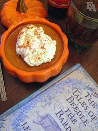 Pumpkin Pasties Recipe Feast Of Fiction by Fiction Food Café Pumpkin Pot De Crème Mix From Sof U0027ella Harry