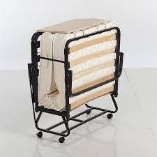 amazon com istikbal omega folding portable rollaway bed on wheels