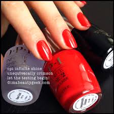 Opi Uv Lamp Instructions by Opi Infinite Shine Review Still Goin U0027 Beautygeeks