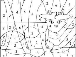Coloring By Number Worksheets Color Kindergarten Free Of Love Ten Math Numbers Online