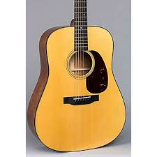 Martin D 18E Dreadnought Acoustic Electric Guitar With Fishman Electronics