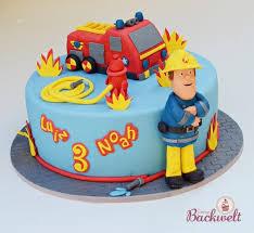 feuerwehrmann sam torte fireman sam cake jennys backwelt