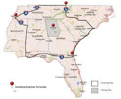 100 Southeast Regional Trucking Jobs Salary Truck Driving Job Heartland Express