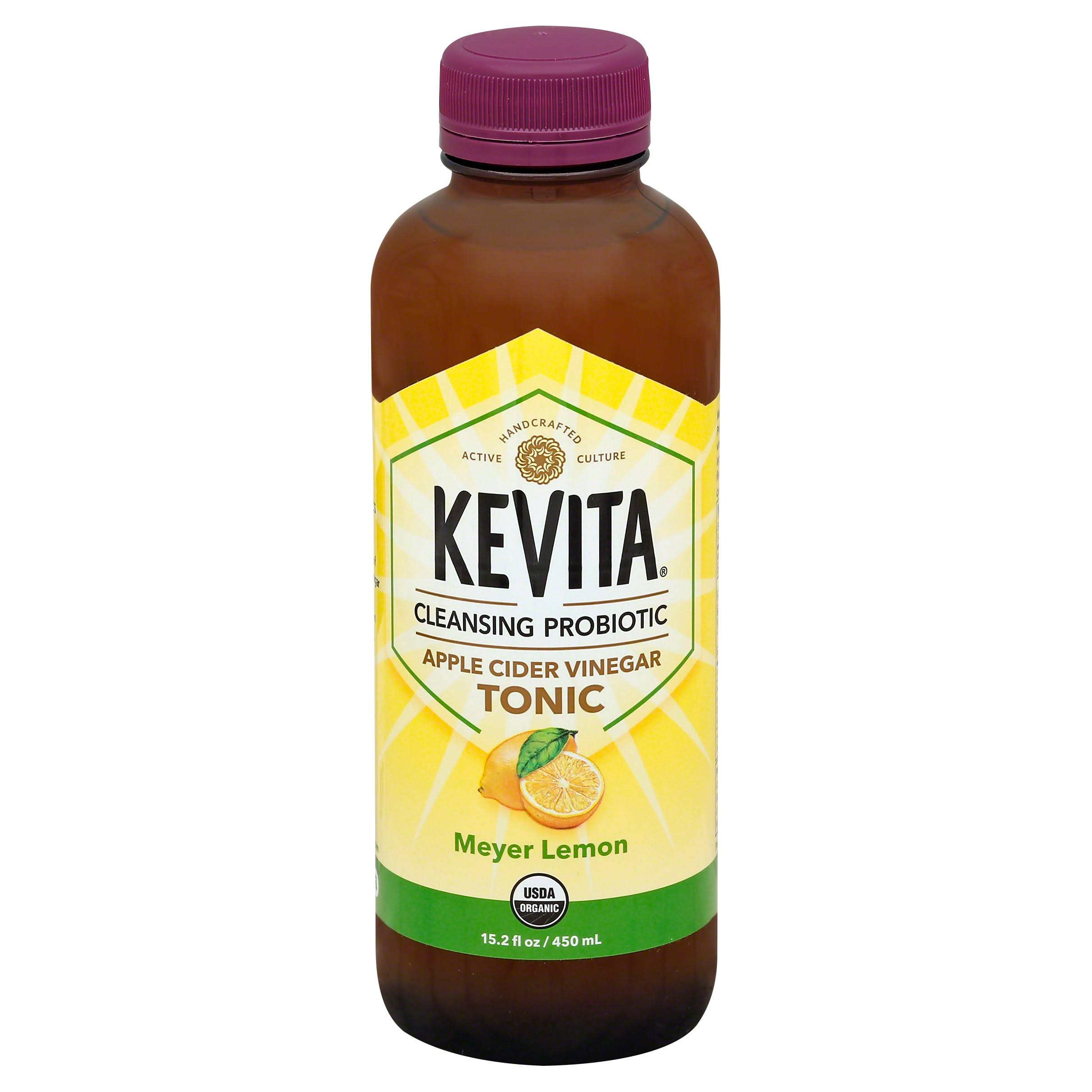 KeVita Tonic, Apple Cider Vinegar, Meyer Lemon - 15.2 fl oz