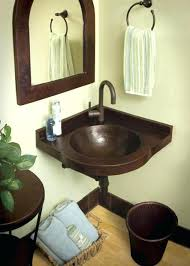 Small Corner Bathroom Sink And Vanity by Small Bathroom Corner Sinkfive Bathroom Sinks For The Corner Small