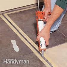 patio tiles how to build a patio with ceramic tile family handyman