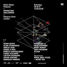 2 Other Names For Halloween by Ra Tickets Drumcode Halloween 2017 At Tobacco Dock London