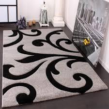 Designer Carpets Black White
