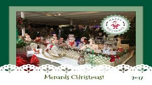 Christmas Decor Shopping At Menards Pt Youtube