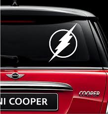 100 Mini Truck Stickers The Flash Vinyl Decal For Car And Windows Sticker